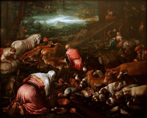 Jacopo_Bassano_workshop_-_Animals_boarding_the_Noah's_Ark_-_Louvre