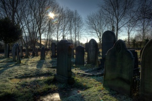 St_georges_church_graveyard_Carrington_Greater_Manchester