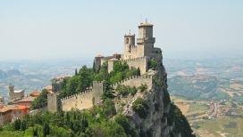 San Marino Castle Fortress Rock